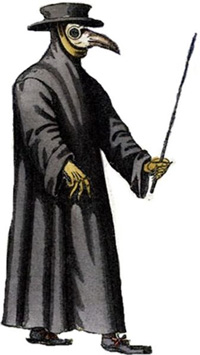 Black Plague Doctor