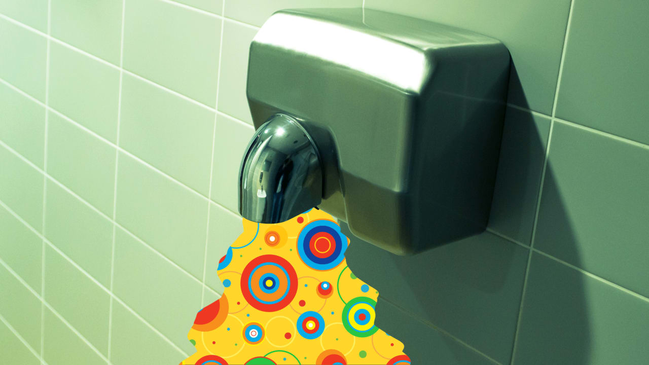 """Bathroom Hand Dryers Are Creating """"Bacterial Highways"""" In Your Office"""