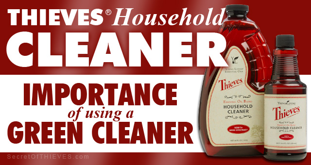 Thieves Cleaner Green Cleaning