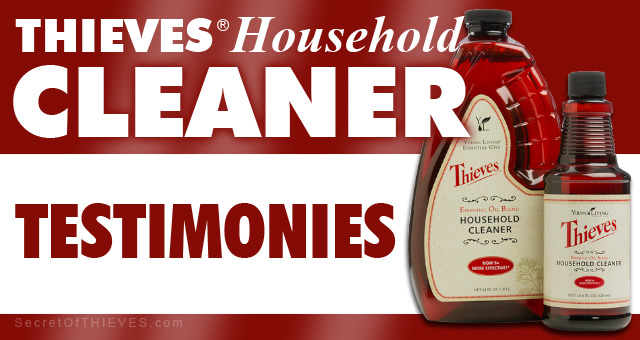 Thieves Household Cleaner Testimonies