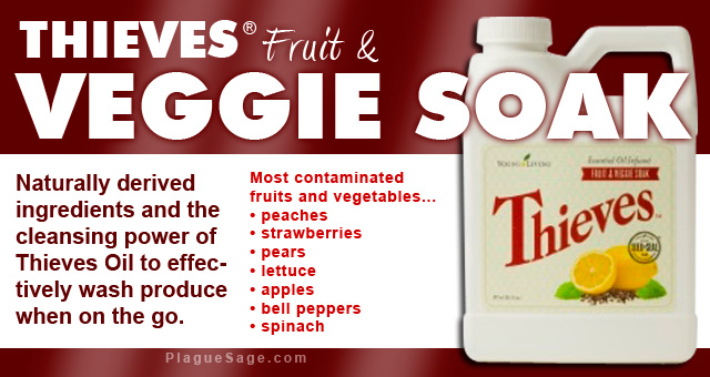 Thieves Fruit & Veggie Soak