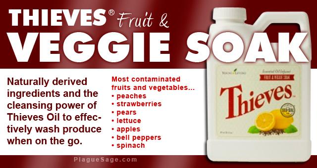 Thieves Fruit & Veggie Soak